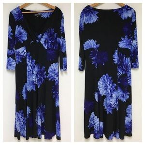 Jones New York Floral Dress 10R